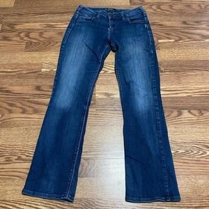 Silver Suki High Baby Boot Jeans size 28